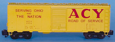ACY 40' Box Car